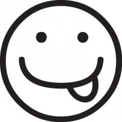 tampon smiley moqueur 1