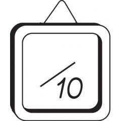 Tampon appréciation note sur 10