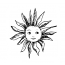 Visage de plein soleil