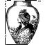 Vase à la nymphe