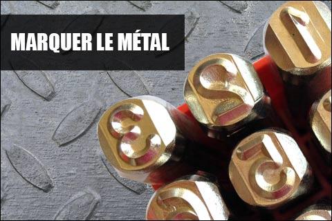 Marquer le métal