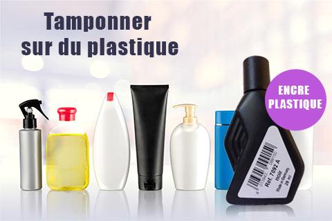 Tamponner sur du plastique